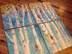 Healing Ceilings trees