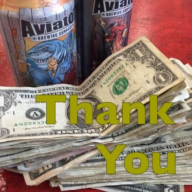 thank You money